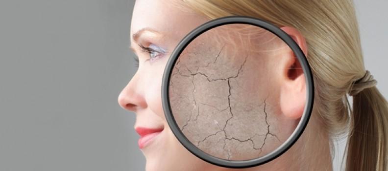Козметични процедури за суха кожа на лицето
