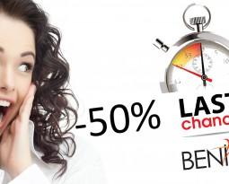 LAST MINUTE в BENIKO -50%